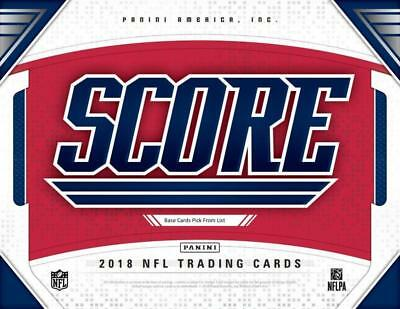 2018 Score Football Cards Pick From List 251-440 Includes Rookies