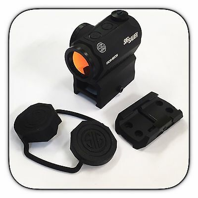 Sig Sauer Romeo 5 1x20mm 2 MOA Red Dot Sight w Mounts - SOR52001