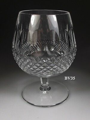WATERFORD CRYSTAL COLLEEN BRANDY GLASS  5 18  SNIFTERS - IRELAND - EXCELLENT