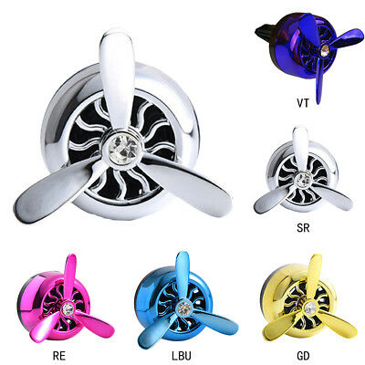 Propeller Shape Auto Car Air Conditioning Vent Perfume Air Freshener Fragrance