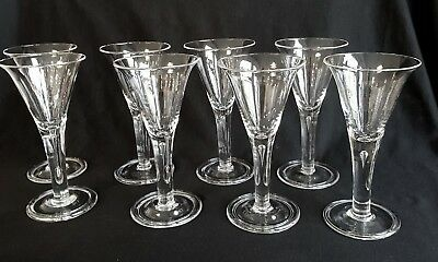 BLENKO GLASS COLONIAL WILLIAMSBURG - TEARDROP - WATER GOBLETS 8 AVAILABLE