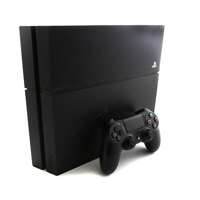 Sony Playstation 4 PS4 500GB Console Glossy Jet Black CUH-1001A