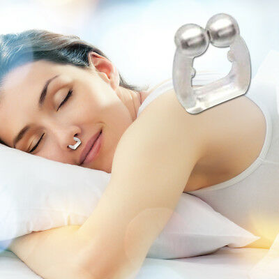 1pc Anti Snore Nose Clip Stop Snoring Sleep Aid Snore Stopper Free Night Magnet