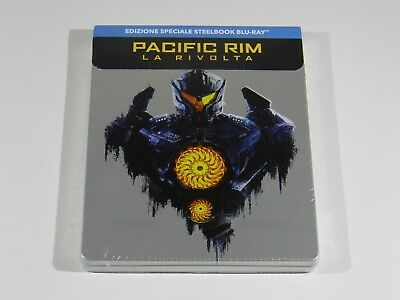 Pacific Rim Uprising Blu-ray Steelbook Edition IMPORT RARE RGN FREE ENG AUDIO