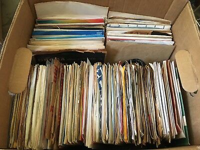 FANCY Lot Of 50 ASSORTED 45s Records for your Jukebox or more 7 45 rpm