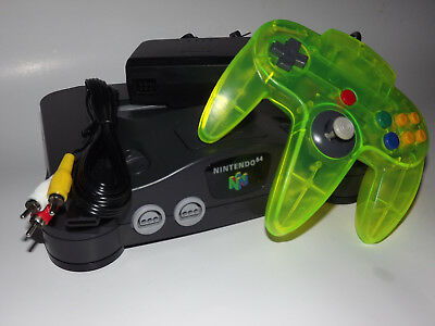 Original Nintendo 64 System Complete with N64 Controller - Cables Clean - Tested