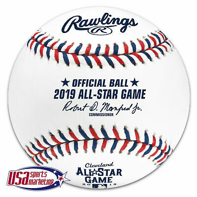 2019 All Star Official Rawlings Game Baseball Cleveland Indians - Boxed