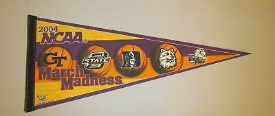 2004 NCAA MARCH MADNESS Final Four College Basketball Pennant