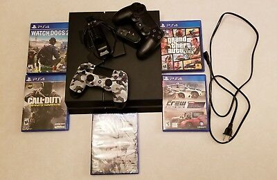Playstation 4 bundle with games controllers