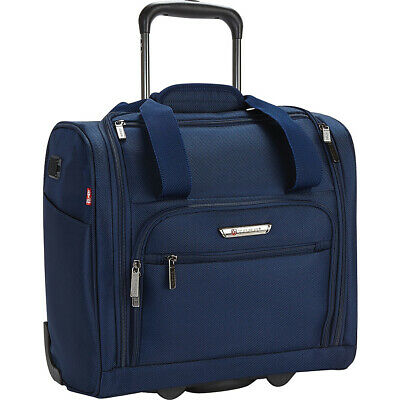 Travelers Club Luggage Rafael 15 Carry-On Underseat Softside Carry-On NEW