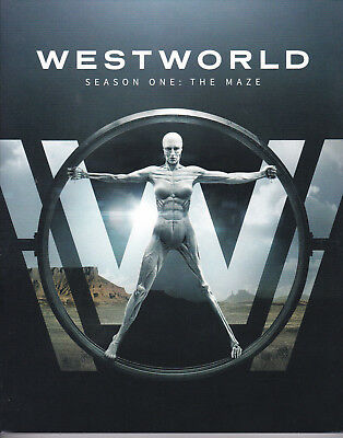 WESTWORLDThe Maze-Complete First Season BLU-RAY