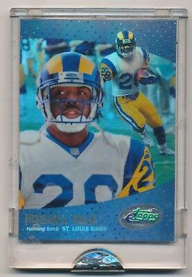 TEST ISSUE 2000 Etopps Marshall Faulk   ST LOUIS RAMS