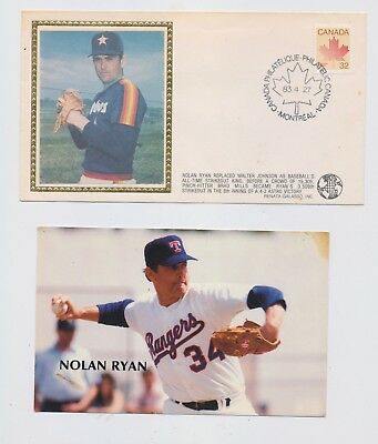 3 Unique Nolan Ryan Items Houston Astros Texas Rangers