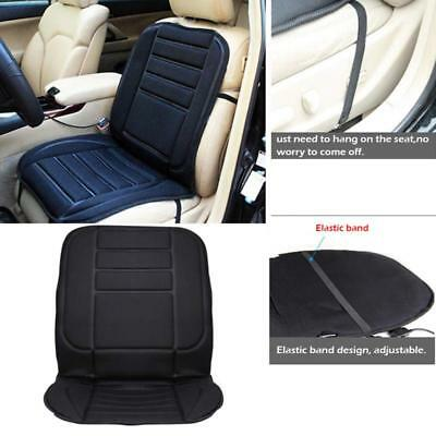 Car Vehicle Auto Front Seat Cover Cushion Hot Heated Padded Winter Warmer Seat
