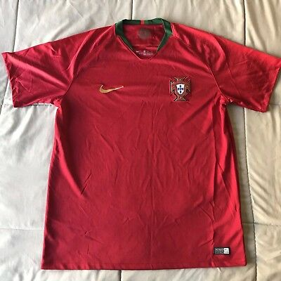 Nike Portugal Home Jersey World Cup 2018 Large