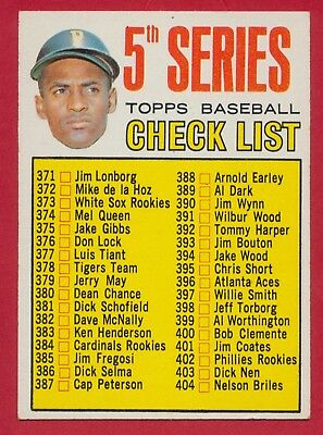 1967 Roberto Clemente Checklist Card 361 Topps Pittsburgh Pirates