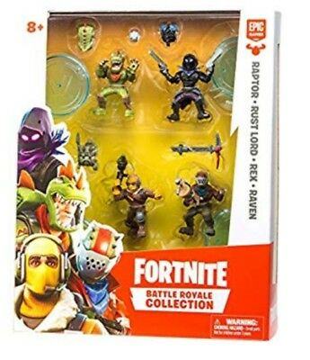 Fortnite Battle Royale Collection Mini Action Figures Squad Pack