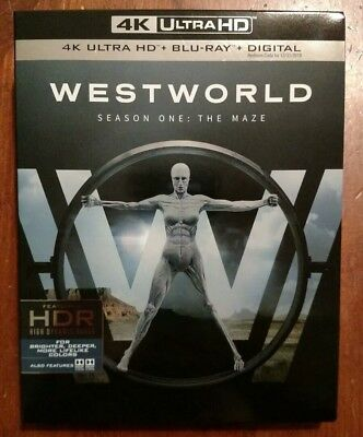 Westworld Season 1 4K Ultra HD UHD - Blu-ray 6 Discs