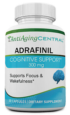 Adrafinil 300mg 30 Capsules - Made in USA Great Quality Best Price Adrafinil