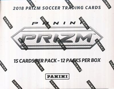 2018 PANINI PRIZM RUSSIA FIFA WORLD CUP SOCCER FAT PACK SEALED BOX - IN STOCK