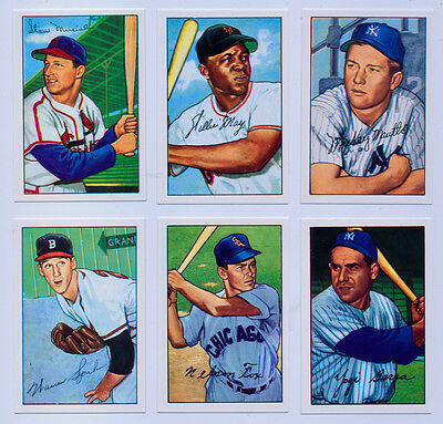 1952 Bowman Baseball  Reprint All Team Sets Available FREE TY COBB Card