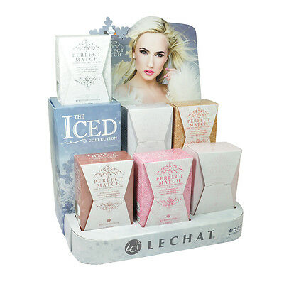 LECHAT PERFEKT PASSEND UV GEL POLITUR NAGELLACK THE ICED COLLECTION PMS163 168