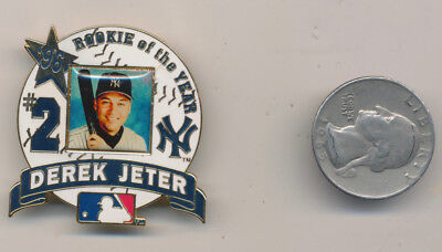 DEREK JETER Licensed Rookie Pin New York Yankees  Limited - Mickey Mantle Bonus