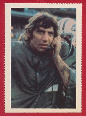 1981 Joe Namath Smithsonian Institute  Football Card New Jersey Jets