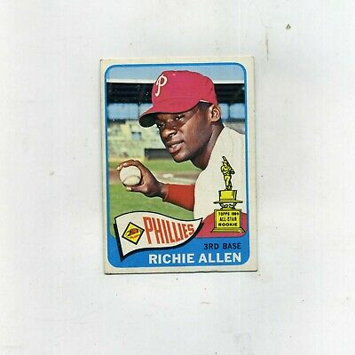 1965 Topps 460 Richie Allen  ExMt  Clean and Crease free