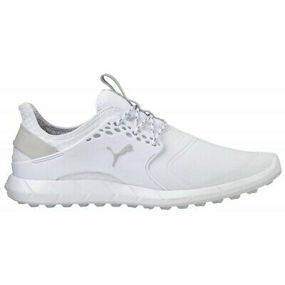 Puma Ignite Pwrsport Pro Spikeless Golf Shoes 191212 - White - Select Size