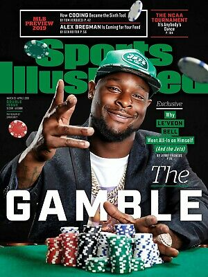 LEVEON BELL NY JETS GAMBLE PHILLIES MLB PREVIEW SPORTS ILLUSTRATED MARCH 2019