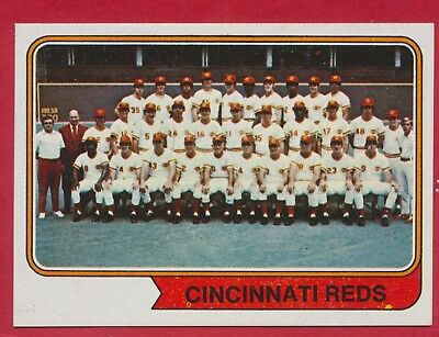 1974 Near Mint 26 Pete Rose26 Johnny Bench26 F Robinson Cincinnati Reds Cards