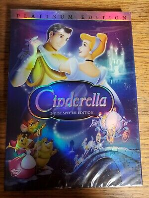 Cinderella DVD 2005 2-Disc Set Special Edition - DVD Platinum Collection