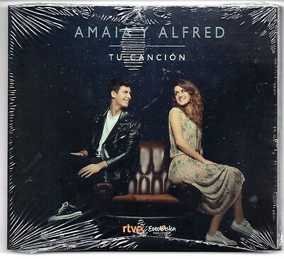 EUROVISION SPAIN 2018 AMAIA Y ALFRED Tu cancion SPANISH CD SINGLE STILL SEALED