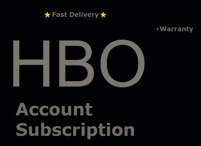 HBO Premium Account Subscription with Warranty ⭐Fast Delivery⭐