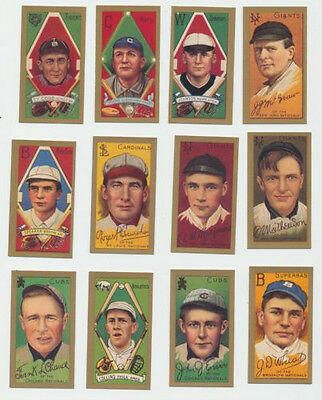 1910 T 205 Reprint Partial  Set Includes Ty Cobb Cy Young Christy Mathewson