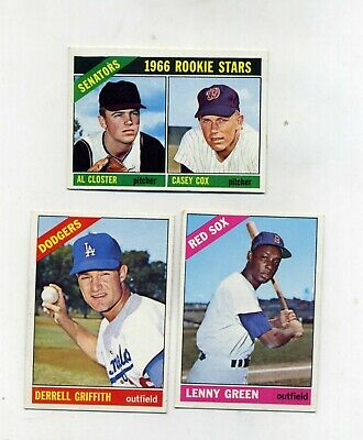 1966 Topps high number lot s 502549573 VGVG-EX-Nice lot