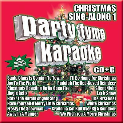 Party Tyme Karaoke Christmas Sing Along by Sybersound CD May-2005 NEW