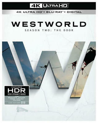 Westworld The Complete 2nd Second Season The Door 4K Ultra HD  Blu-Ray NEW