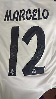 Real Madrid CF Home Marcelo 12 Soccer Jersey Season1819 - FREE USA SHIPPING