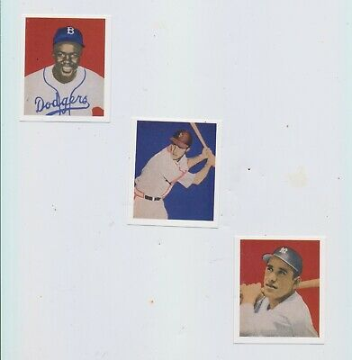 1949 Bowman 120 reprint Cards JACKIE ROBINSON  Rookie STAN MUSIAL - Pacific Set