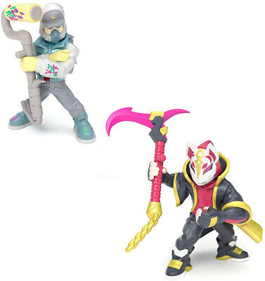 Fortnite Battle Royale Collection Duo Pack Drift and Abstrakt Action Figures