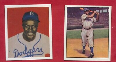 Jackie Robinson 1949 Rookie 1950 Bowman 1952 Bronze - More Brooklyn Dodgers
