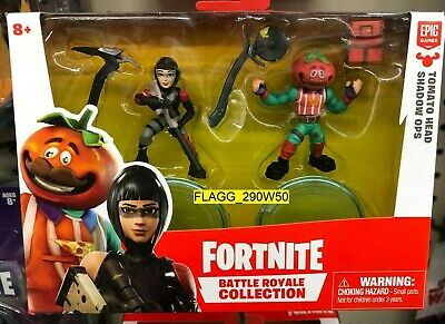 FORTNITE Battle Royale Collection TOMATO HEAD - SHADOW OPS Figure 2 Pack NEW