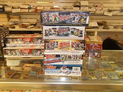 2010 2011 2013 2014 2015  Topps Football Factory Sealed Set lot-CLEAN SETS