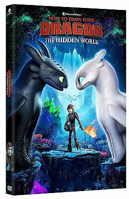 How To Train Your Dragon 3 Hidden World DVD 2019 Brand New Unopened