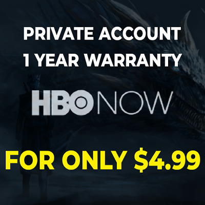 HBO PREMIUM ACCOUNT  1 YEAR WARRANTY  PRIVATE  ONLY 4-99
