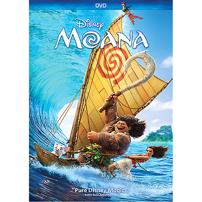 Moana DVD 2017 - Brand New Unopened In Shrink Wrap Free Ship