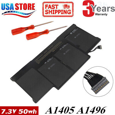 A1466 Battery for Apple MacBook Air 13 Mid 2012 2013 Early 2014 15 A1405 A1496