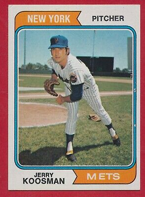 21 1974 Jerry Koosman Topps Cards  New York Mets